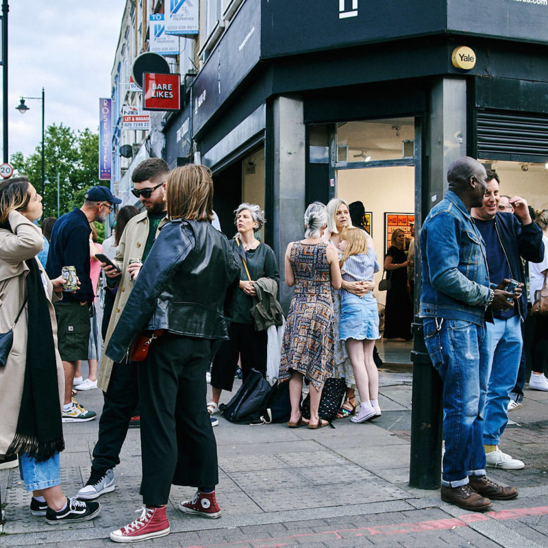 INTROVERSION IMMERSION | Private View Launch and Photos