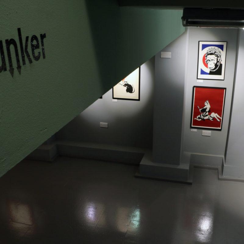 Visit Hang-Up Gallery's Banksy Bunker