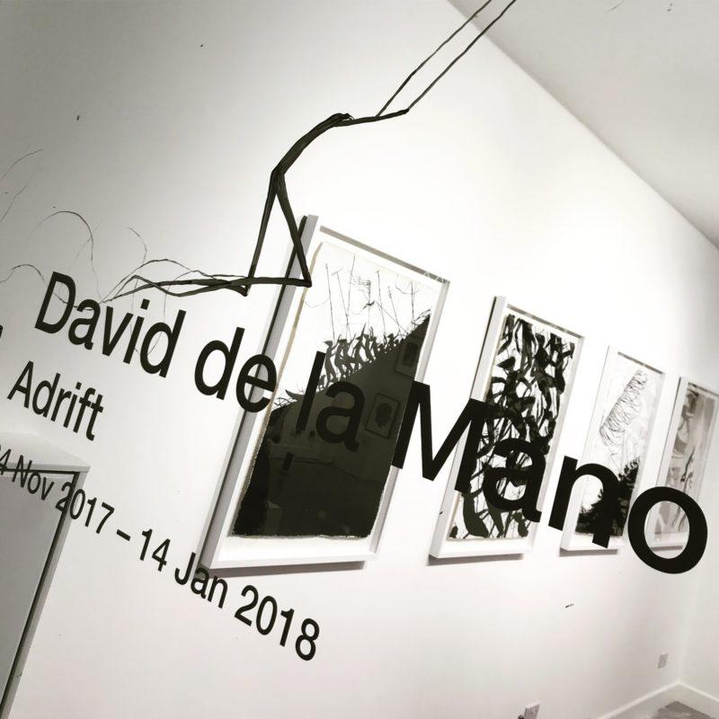David de la Mano | Adrift | Private View at Hang-Up Gallery