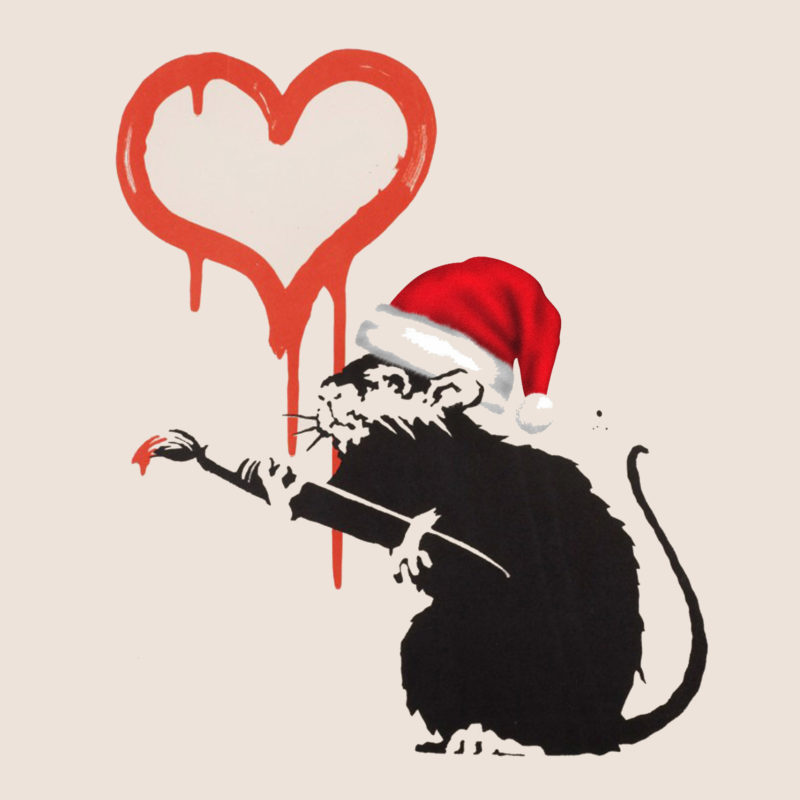 Merry Christmas and a Happy New Year from Hang-Up Gallery!