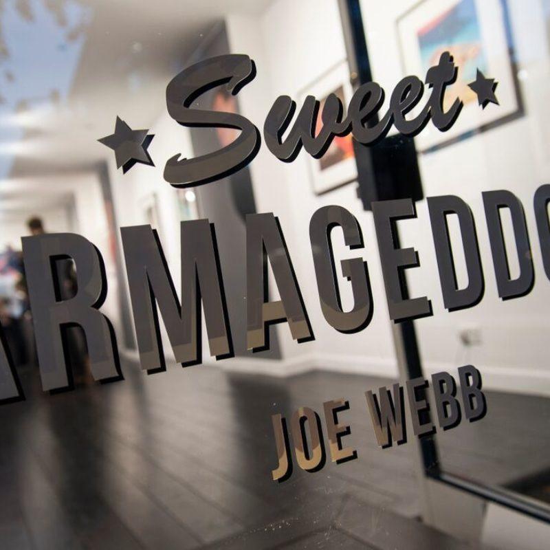 Joe Webb Sweet Armageddon Private View