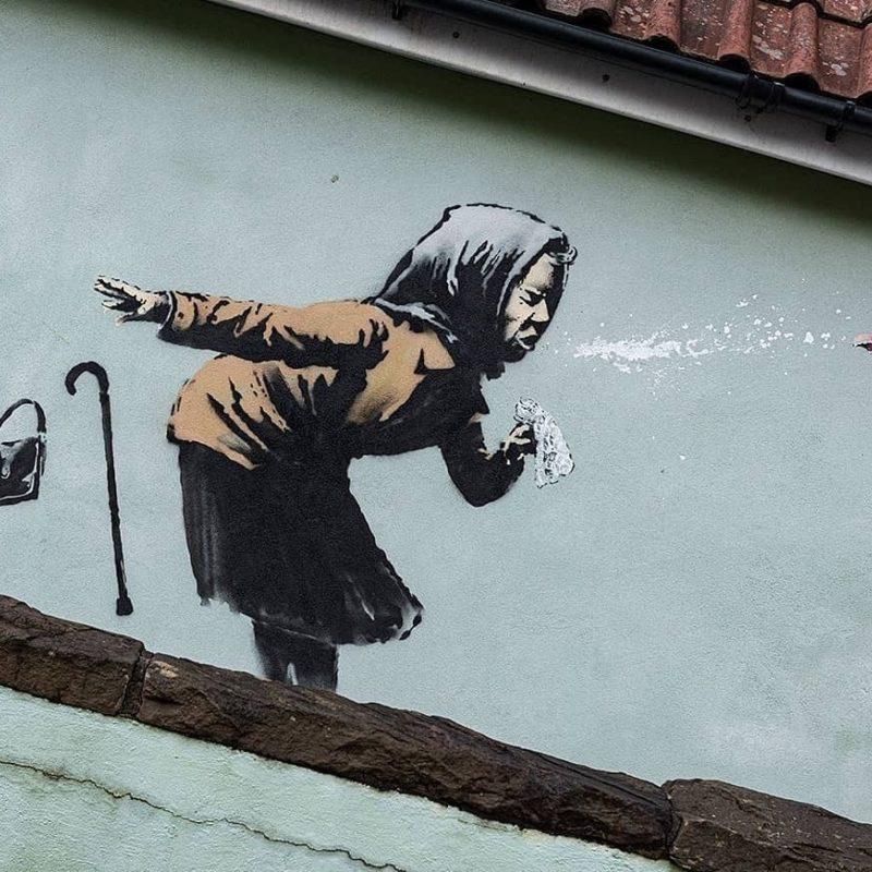 Banksy Strikes In Bristol