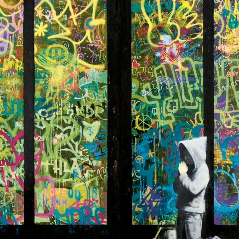 'Forgive Us Our Trespassing' Becomes Second Most Expensive Banksy To Sell At Auction