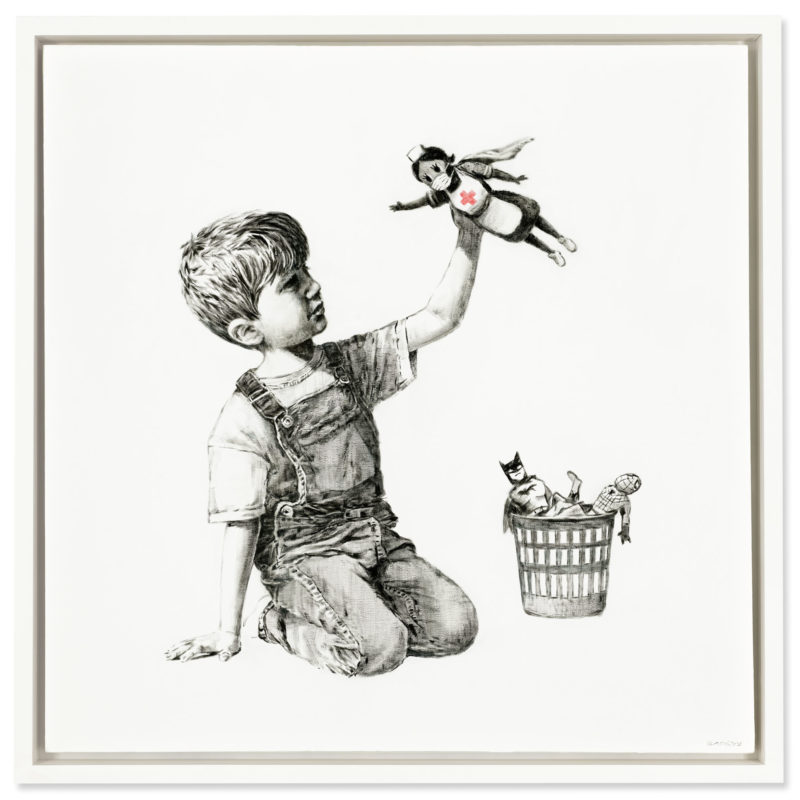 Banksy's Game Changing Record in Aid of the NHS
