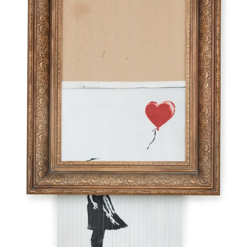 Banksy's Love Is In the Bin Achieves £18,582,000 at Sotheby's