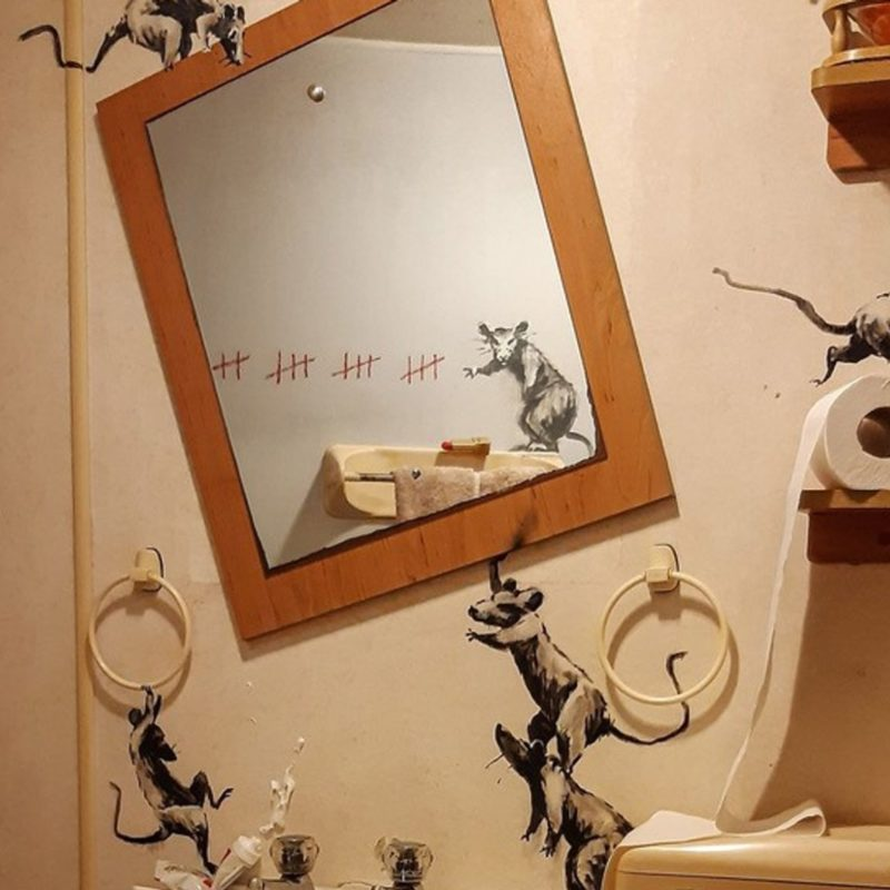 Banksy's Work from Home