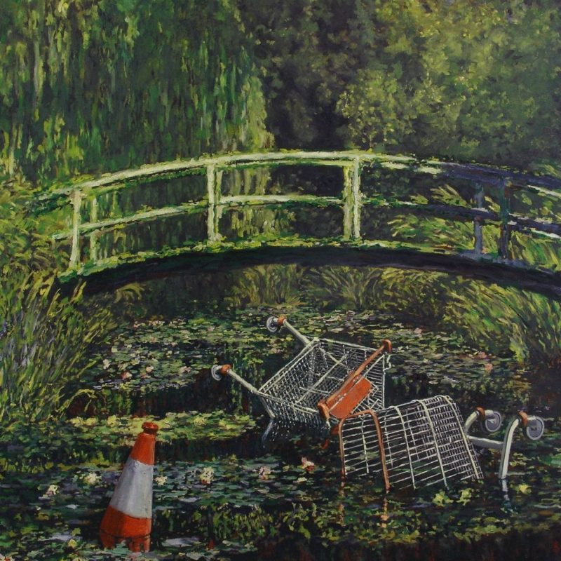 Banksy's 'Show me the Monet' Sells for £7.5 Million at Sotheby's
