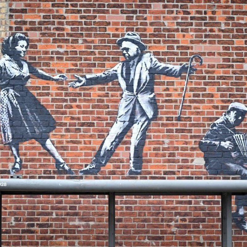 Banksy Confirms Latest Spree of Murals