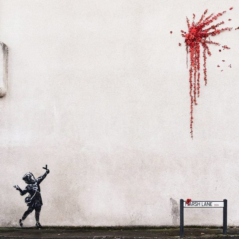 Happy Valentine's Day from Banksy