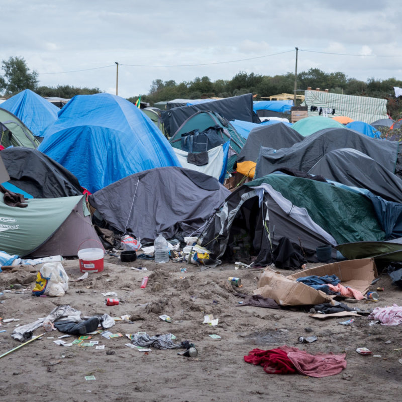 The Connor Brothers aid of Calais Refugees
