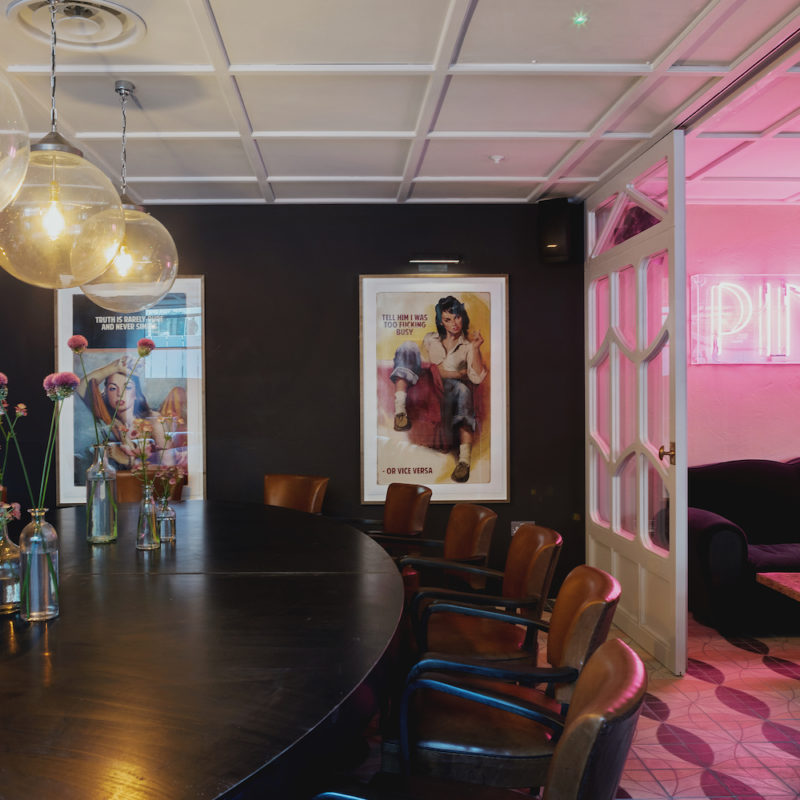 Hang-Up's Work With Commercial Spaces | Interiors & Art...