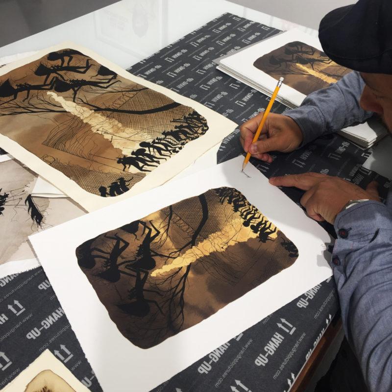 Exclusive Print Release | Hang-Up Gallery X David de la Mano | Border Events