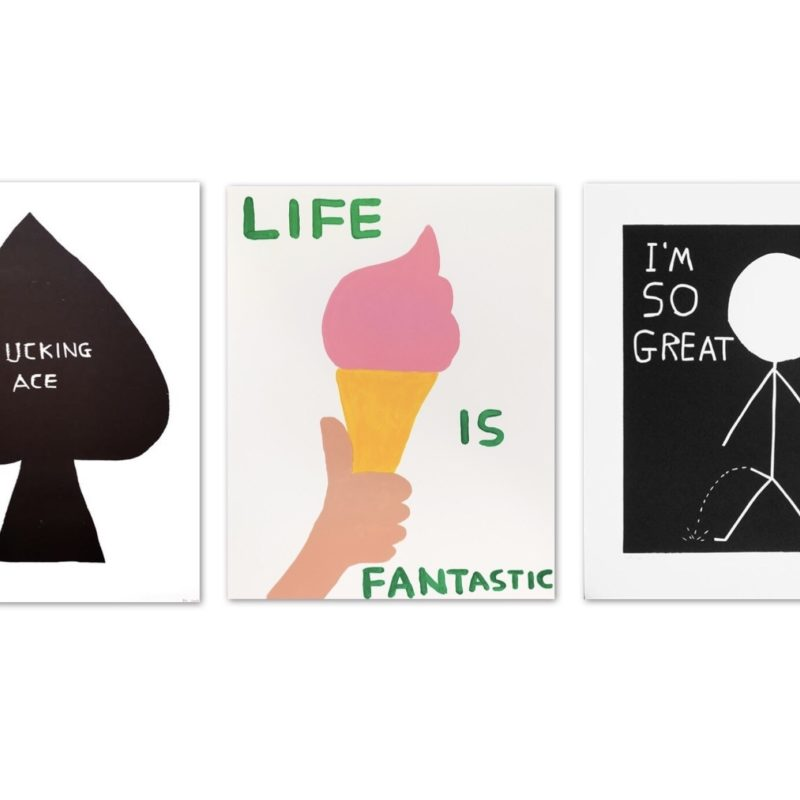 David Shrigley | A Combination of Drawing and Text | TYPE