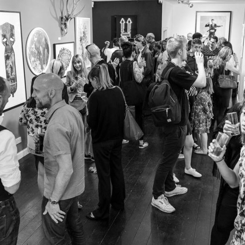 Private View Launch - Dog Days: Summer's Hottest Artists