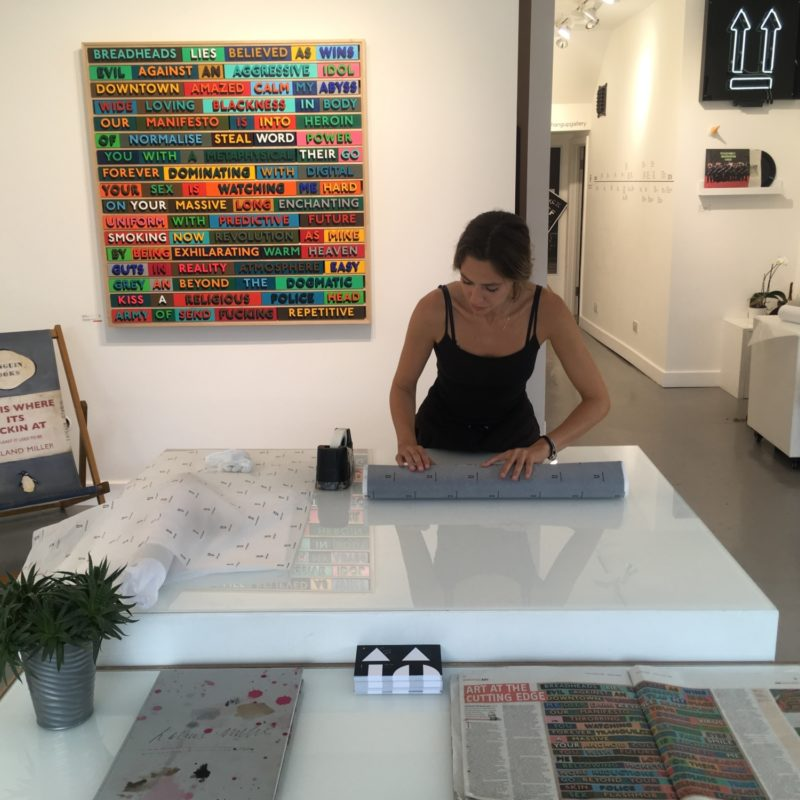Hang-Up Inside Out: A Day in the Life of a Gallery Registrar