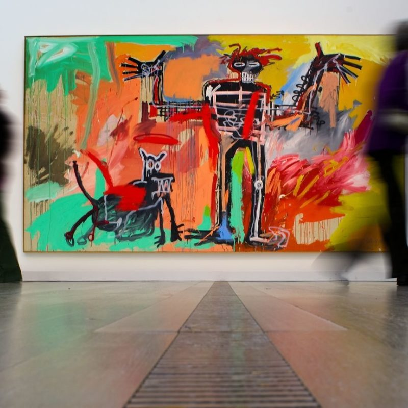 Basquiat Painting Sells for $100 Million