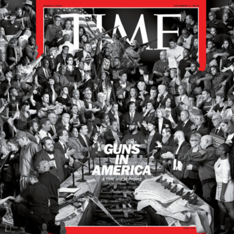JR Teams Up with TIME Magazine to Tackle America's Gun Debate