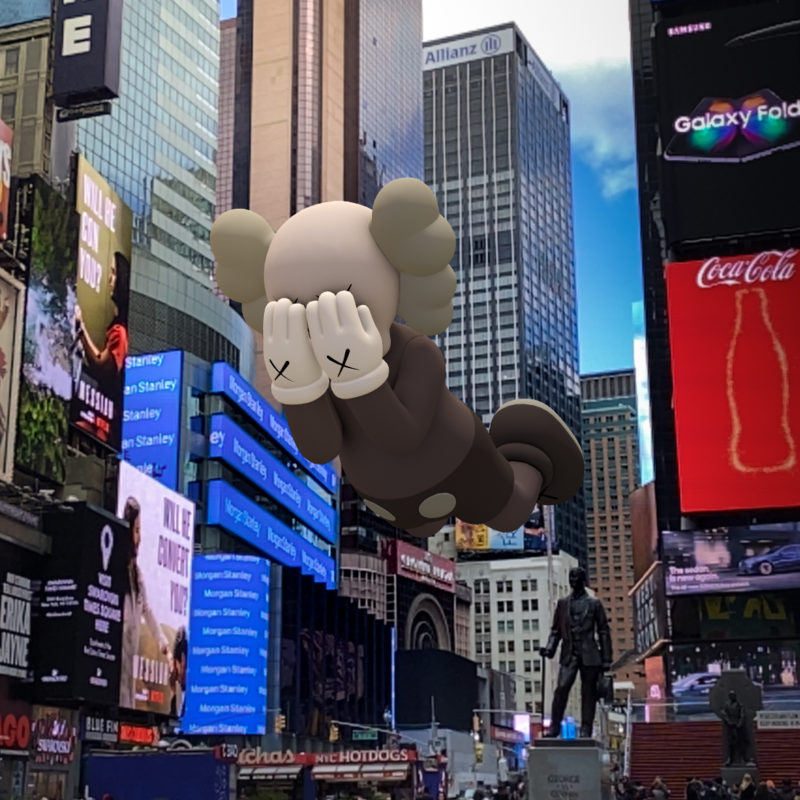 KAWS Launches Augmented Reality Sculptures Around the World