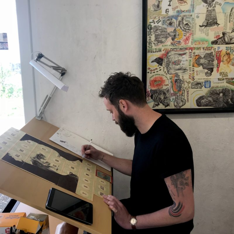 Mark Powell Live Drawing Session | Sat 21 July, 12 - 4pm