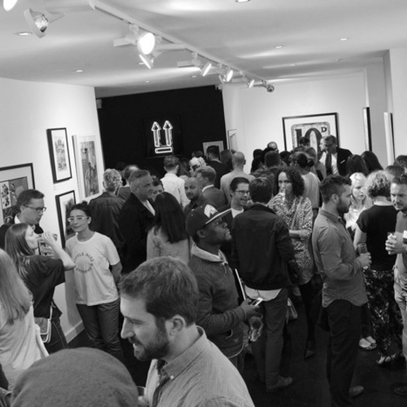 Private View of 'POP' Sir Peter Blake's new exhibition @ Hang-Up Gallery